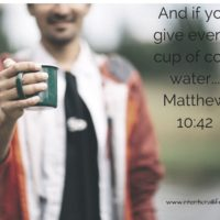 be generous give water